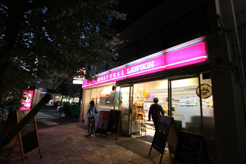 渋谷のコンビニ